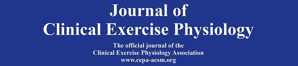 Journal of Clinical Exercise Physiology Submission Manager