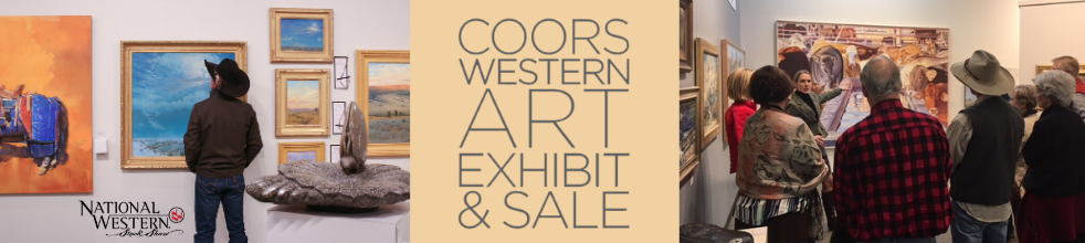 Coors Western Art Exhibit & Sale at the National Western Stock Show