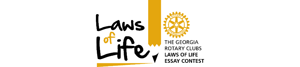 Georgia Rotary Clubs Laws of Life Essay Contest