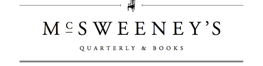 McSweeney's Book Submissions